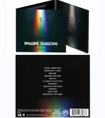 Imagine Dragons Evolve un-signed cd album w Believer Thunder New Sealed
