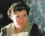 """IMELDA STAUNTON - Best Known for her Roles in """"HARRY POTTER"""" Movies - Signed 10x8 Color Photo"""