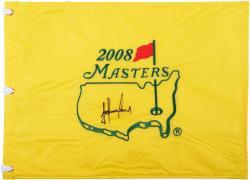 Trevor Immelman Autographed 2008 Masters Golf Pin Flag