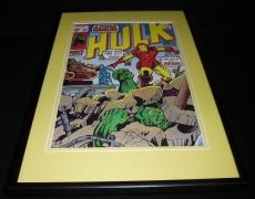 Incredible Hulk #131 Framed 12x18 Cover Poster Display Official RP Iron Man