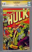 Incredible Hulk #181 Cgc 9.8 German Ed.ss Stan Lee White Pages #1191292003