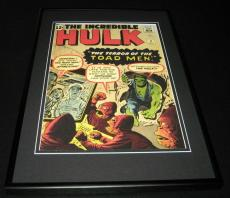 Incredible Hulk #2 Toad Men Framed 10x14 Cover Poster Photo Marvel