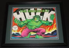 Incredible Hulk ORIGINAL 1979 Framed 8x10 Poster