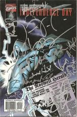 Independence Day Signed Comic Book