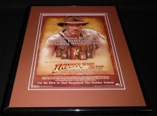 Indiana Jones 2003 Framed 11x14 ORIGINAL Vintage Advertisement Harrison Ford