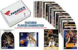 Indiana Pacers Team Trading Card Block/50 Card Lot