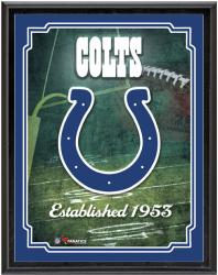 "Indianapolis Colts Team Logo Sublimated 10.5"" x 13"" Plaque"