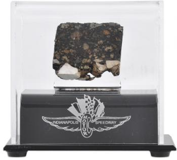 Indianapolis Motor Speedway Track Piece - - Mounted Memories