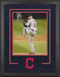 "Cleveland Indians Deluxe 16"" x 20"" Vertical Photograph Frame - Mounted Memories"