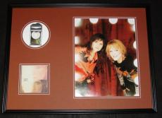 Indigo Girls Signed Framed 18x24 CD & Photo Display Amy Ray Emily Saliers