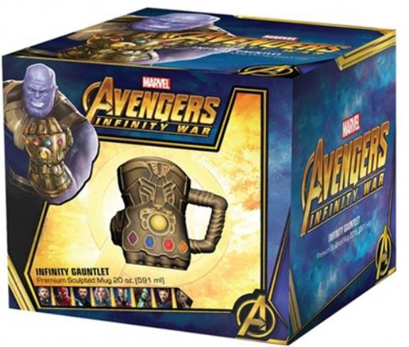 Infinity War Gauntlet 20oz. Sculpted Mug