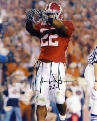 Mark Ingram Alabama Crimson Tide Autographed 8'' x 10'' Rock Pose Photograph - Mounted Memories