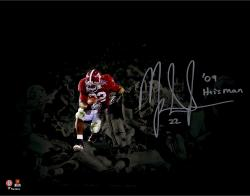Mark Ingram Autographed 11x14 Spotlight Photo - Heisman 09