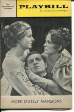 Ingrid Bergman Collen Dewhurst Larry Linville More Statley Mansions Playbill
