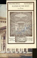 Ingrid Bergman Signed Jsa Haymarket Theater Program Authentic Autograph