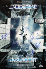 Insurgent (6) Watts, Phifer, Courtney, Spencer Signed 12x18 Photo BAS #A09813