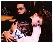 "INTERVIEW with the VAMPIRE"" Signed by BRAD PITT as LOUIS and KRISTEN DUNST as CLAUDIA 10x8 Color Photo"