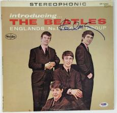 Introducing The Beatles Paul McCartney Signed Autographed Album PSA/DNA MINT 10