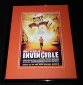 Invincible Framed 11x14 Poster Display Mark Wahlberg Vince Papale