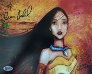 IRENE BEDARD Signed Disney's POCAHONTAS 8x10 Photo BAS Beckett COA A Proof Pic