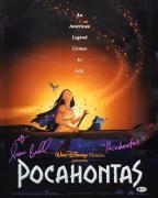 Irene Bedard Signed Pocahontas Metallic/Chrome 16x20 Photo Beckett I82390