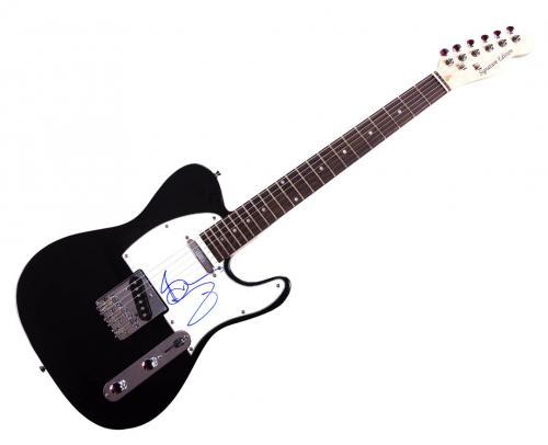 Iron Maiden Bruce Dickinson Signed Tele Guitar Uacc Rd Coa AFTAL
