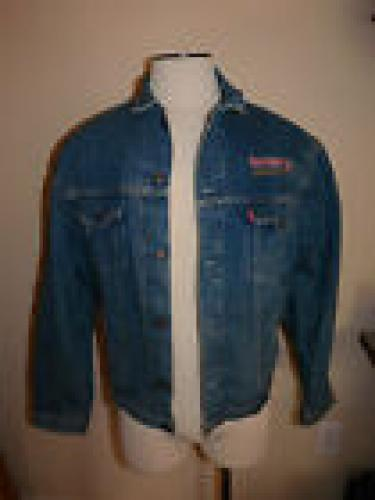 Iron Maiden No Prayer On the Road Tour 1990-1991 Crew L Levi's Denim Jacket