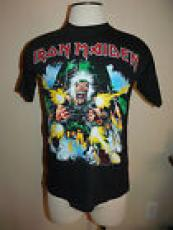 Iron Maiden No Prayer On the Road Tour 1990-1991 L Blk T Shirt Shoot That Fukker