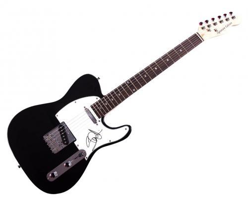 Iron Maiden Steve Harris Signed Tele Guitar Uacc Rd Coa AFTAL