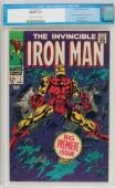 Iron Man #1 Cgc 9.8 Oww Pages 1st Iron Man In Own Title Cgc #0000833002
