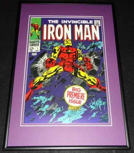 Iron Man #1 Marvel Framed 12x18 Cover Photo Poster Display Official Repro