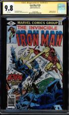 Iron Man #124 Gcc 9.8 Sig Series Stan Lee White Highest Graded Cgc #1508470008
