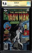 Iron Man #125 Gcc 9.6 Ss Stan Lee White Pages Cgc #1508483001