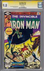Iron Man #137 Gcc 9.8 Sig Series Stan Lee White Single Highest Cgc #1191292028