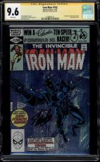 Iron Man #152 Gcc 9.6 Ss Stan Lee White Pages Cgc #1508462012