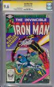 Iron Man #156 Gcc 9.6 Oww Ss Stan Lee Single Highest Graded #1191274001