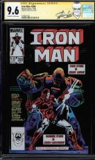 Iron Man #200 Gcc 9.6 Oww Ss Stan Lee Cgc #1508477002