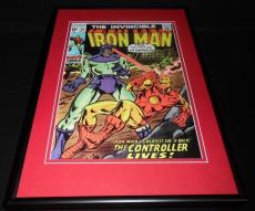 Iron Man #28 Framed 12x18 Cover Poster Display Official RP The Controller