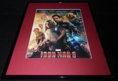 Iron Man 3 Robert Downey Jr Gwyneth Paltrow Framed 16x20 Poster Display