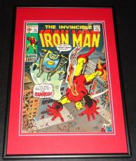 Iron Man #36 Framed 10x14 Cover Poster Photo Ramrod