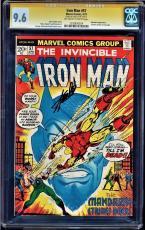 Iron Man #57 Gcc 9.6 Oww Pagese Ss Stan Lee Mandarin Story Cgc #1203830024