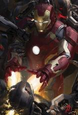 Iron Man Avengers 2 Age of Ultron 2014 Comic-Con SDCC Marvel promo movie poster