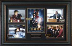 Iron Man - Cast AUTOGRAPHED Movie Framed Display