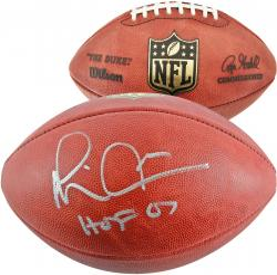 Michael Irvin Dallas Cowboys Autographed Pro Football with HOF 2007 Inscription