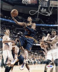 "Kyrie Irving Cleveland Cavaliers Autographed 8"" x 10"" vs. Atlanta Hawks Photograph"