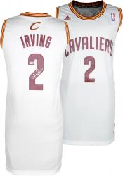 Kyrie Irving Cleveland Cavaliers Autographed Swingman Jersey