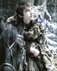 Isaac Hempstead Wright Game Of Thrones Signed 8X10 Photo PSA #AC46852