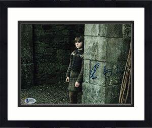 Isaac Hempstead Wright Signed 8x10 Photo Game Thrones Beckett Bas Autograph A