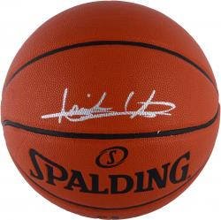 Isiah Thomas Detroit Pistons Autographed Spalding Indoor Outdoor Basketball