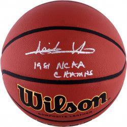 "Isiah Thomas Indiana Hoosiers Autographed Spalding Indoor Outdoor Basketball with ""1981 NCAA CHAMPS"" Inscription"